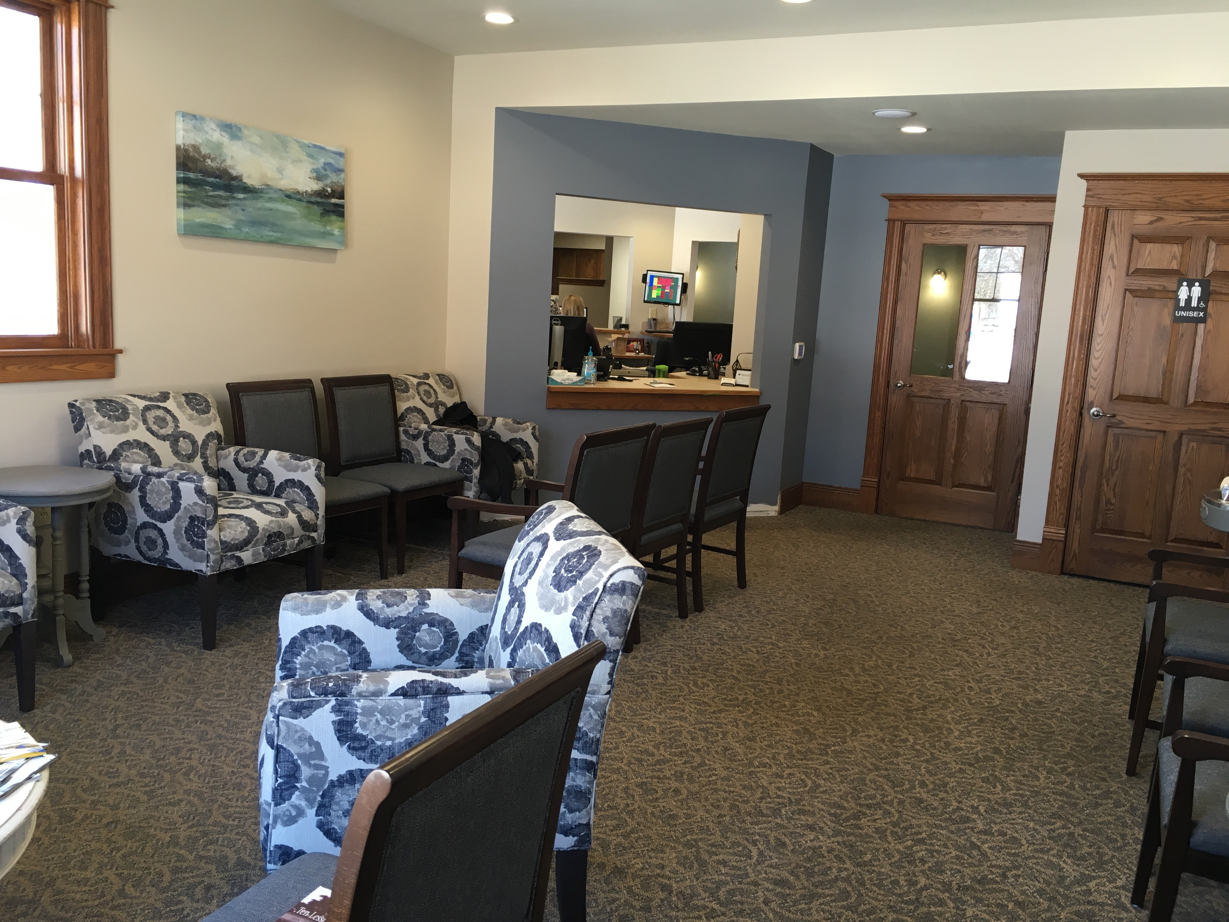 We are enjoying the extra space and updated look at our dental office. We hope you do too!